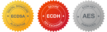 ECDSA ECDH AES security